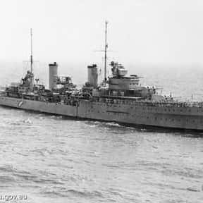 Battle between HMAS Sydney and is listed (or ranked) 3 on the list World War II Battles Involving the Australia