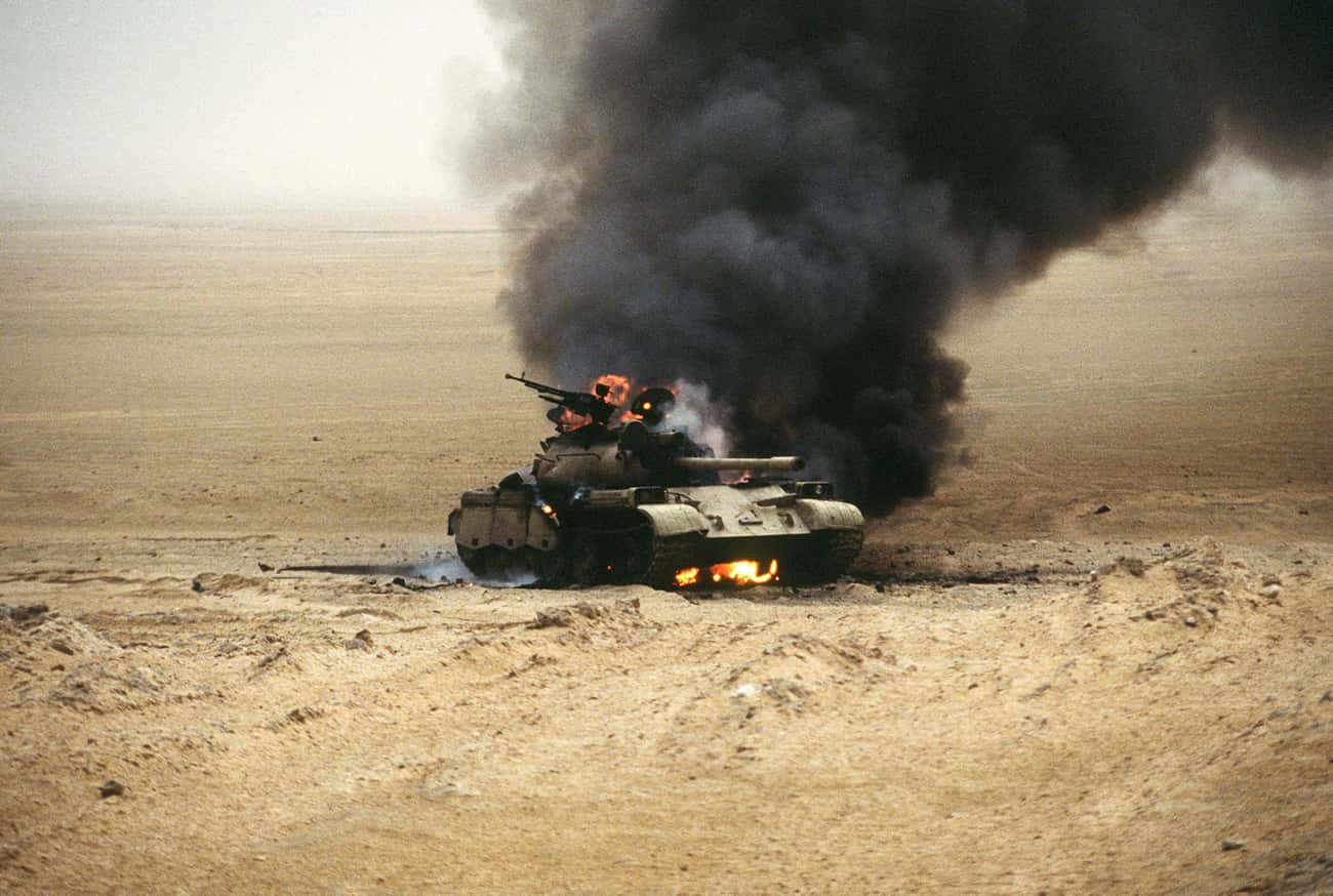 Battle of 73 Easting is listed (or ranked) 4 on the list List Of Gulf War Battles