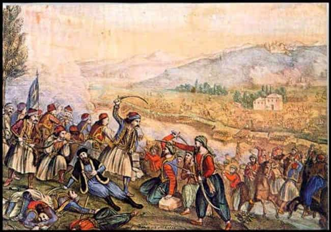 Battle of Alamana is listed (or ranked) 1 on the list List Of Greek War of Independence Battles