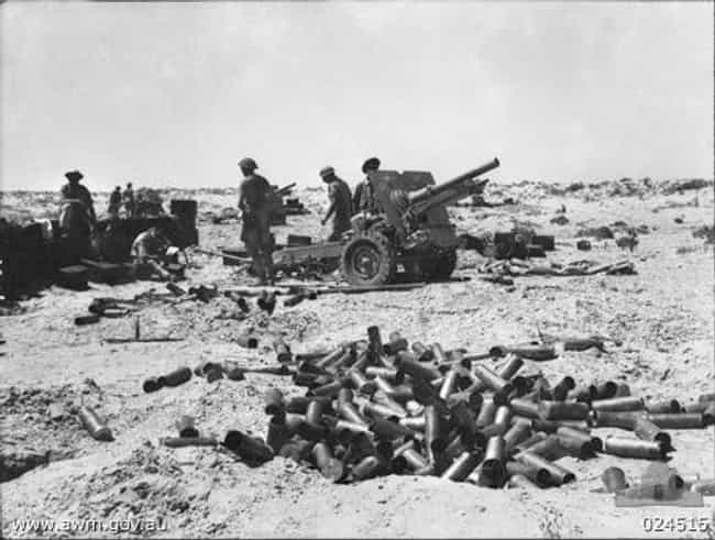 Battle of Alam el Halfa ... is listed (or ranked) 5 on the list List Of Mediterranean Theatre of World War II Battles