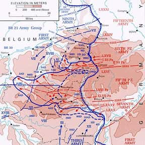 Siege of Bastogne is listed (or ranked) 11 on the list World War II Battles Involving the United States Of America