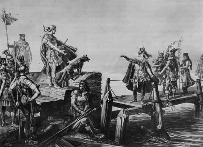 Battle of Bibracte is listed (or ranked) 2 on the list List Of Gallic Wars Battles