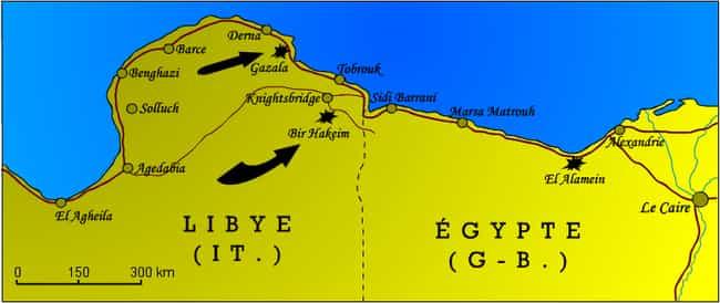 Battle of Bir Hakeim is listed (or ranked) 6 on the list List Of Mediterranean Theatre of World War II Battles