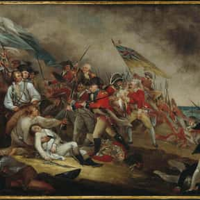 Battle of Bunker Hill is listed (or ranked) 10 on the list The Most Important Battles in US History