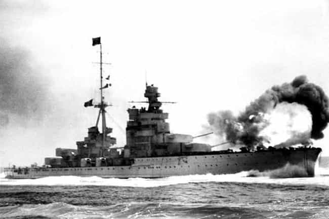 Battle of Calabria is listed (or ranked) 7 on the list List Of Mediterranean Theatre of World War II Battles