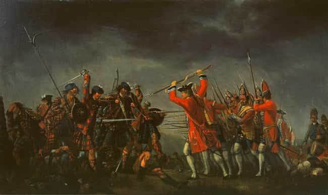 Battle of Culloden is listed (or ranked) 3 on the list List Of Jacobite rising Battles