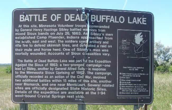 Battle of Dead Buffalo L... is listed (or ranked) 3 on the list List Of Sioux Wars Battles