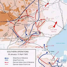 Battle of El Guettar is listed (or ranked) 2 on the list The Battles of George S. Patton