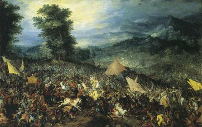 Battle of Gaugamela is listed (or ranked) 4 on the list List Of Wars of Alexander the Great Battles