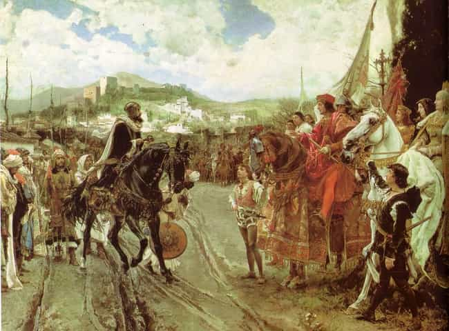Fall of Granada is listed (or ranked) 3 on the list List Of Reconquista Battles