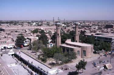 2001 uprising in Herat is listed (or ranked) 1 on the list List Of War on Terrorism Battles