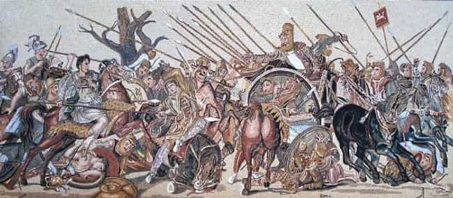 Battle of Issus is listed (or ranked) 5 on the list List Of Wars of Alexander the Great Battles