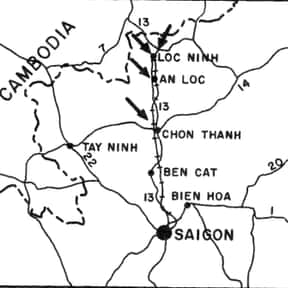 Battle of Loc Ninh is listed (or ranked) 24 on the list Vietnam War Battles Involving the National Front For The Liberation Of South Vietnam