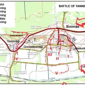 Battle of Tannenberg Line is listed (or ranked) 4 on the list The Battles of Walter Model
