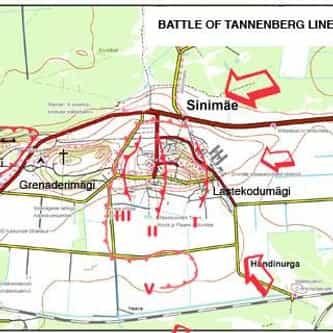 Battle of Tannenberg Line