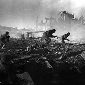 Battle of Stalingrad is listed (or ranked) 1 on the list The Battles of Adolf Hitler