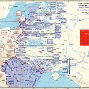 Baltic Offensive is listed (or ranked) 8 on the list World War II Battles Involving the Nazi Germany
