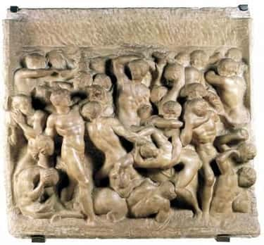 Battle of the Centaurs is listed (or ranked) 2 on the list The Greatest Works of Art from the Renaissance Era