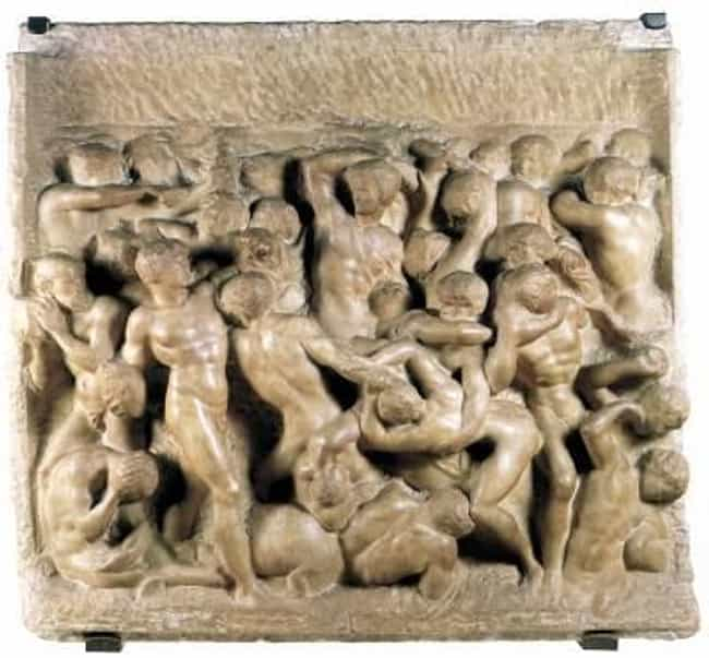 Battle of the Centaurs ... is listed (or ranked) 4 on the list Famous Renaissance Artwork