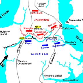 Siege of Yorktown is listed (or ranked) 4 on the list The Most Important Battles in US History