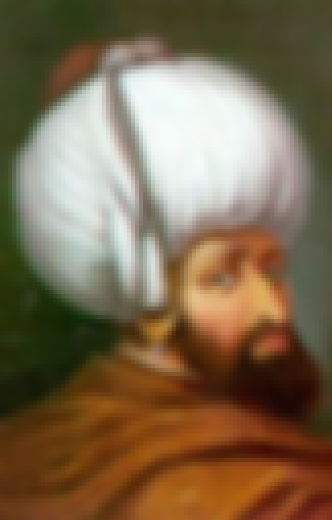 Bayezid I is listed (or ranked) 4 on the list Members of the Ottoman Dynasty