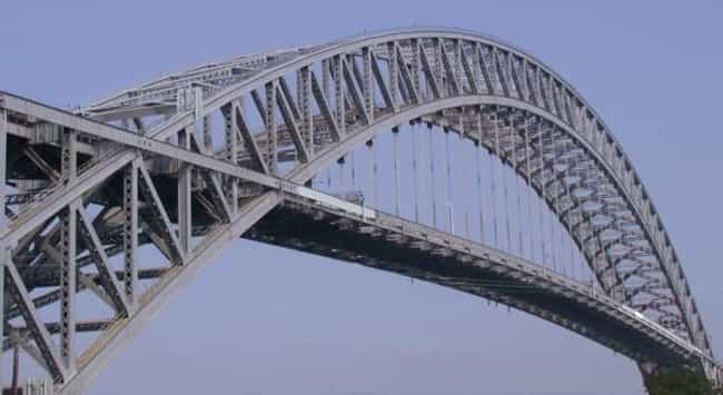 Bayonne Bridge is listed (or ranked) 3 on the list Bridges in New Jersey