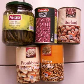 Beans, dried or canned is listed (or ranked) 9 on the list What Basic Groceries Should I Buy Right Now To Stock Up For Quarantine?