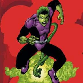 Beast Boy is listed (or ranked) 15 on the list The Best Green Characters
