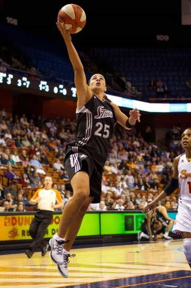 Becky Hammon is listed (or ranked) 2 on the list Famous Female Basketball Players