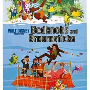 Bedknobs and Broomsticks is listed (or ranked) 25 on the list The Best Disney Live-Action Movies
