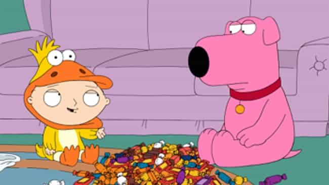 Halloween on Spooner Str... is listed (or ranked) 4 on the list The Best Holiday Episodes On Family Guy