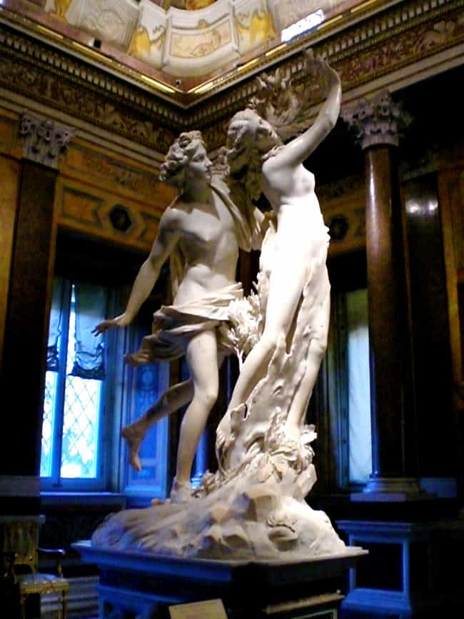 Apollo and Daphne is listed (or ranked) 4 on the list The Best Sculptures Of All Time