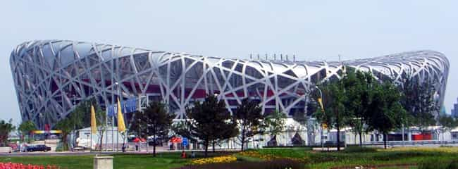 Beijing National Stadium is listed (or ranked) 4 on the list List of Famous Beijing Buildings & Structures