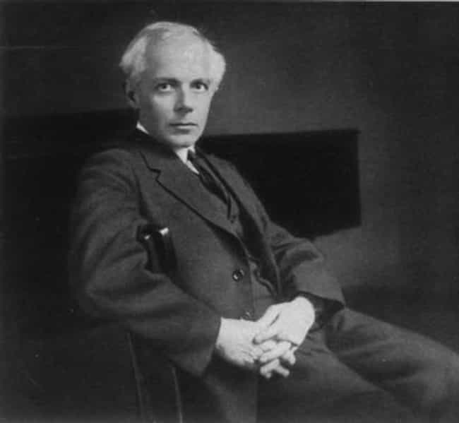 Béla Bartók is listed (or ranked) 2 on the list Famous Composers from Hungary
