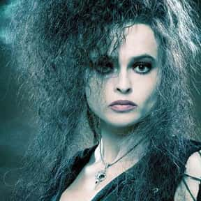 Bellatrix Lestrange is listed (or ranked) 16 on the list The Greatest Movie Villains Of All Time