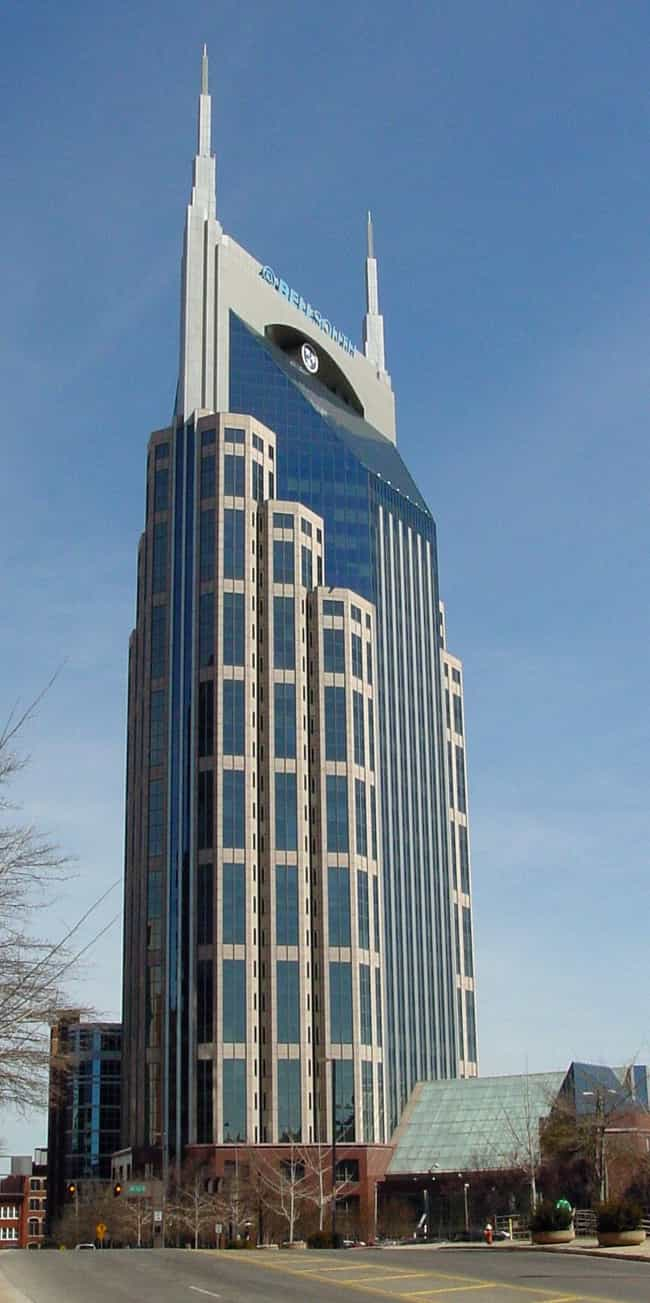AT&T Building is listed (or ranked) 1 on the list List of Famous Nashville Buildings & Structures