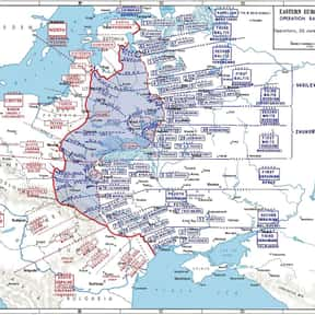 Operation Bagration is listed (or ranked) 6 on the list The Battles of Walter Model