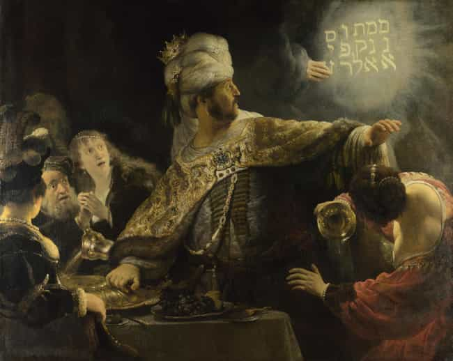 Belshazzar's Feast is listed (or ranked) 8 on the list Famous Rembrandt Paintings