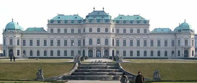 Belvedere is listed (or ranked) 2 on the list List of Famous Vienna Buildings & Structures