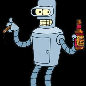 Bender is listed (or ranked) 12 on the list The Cutest Robots In Movies And TV, Ranked