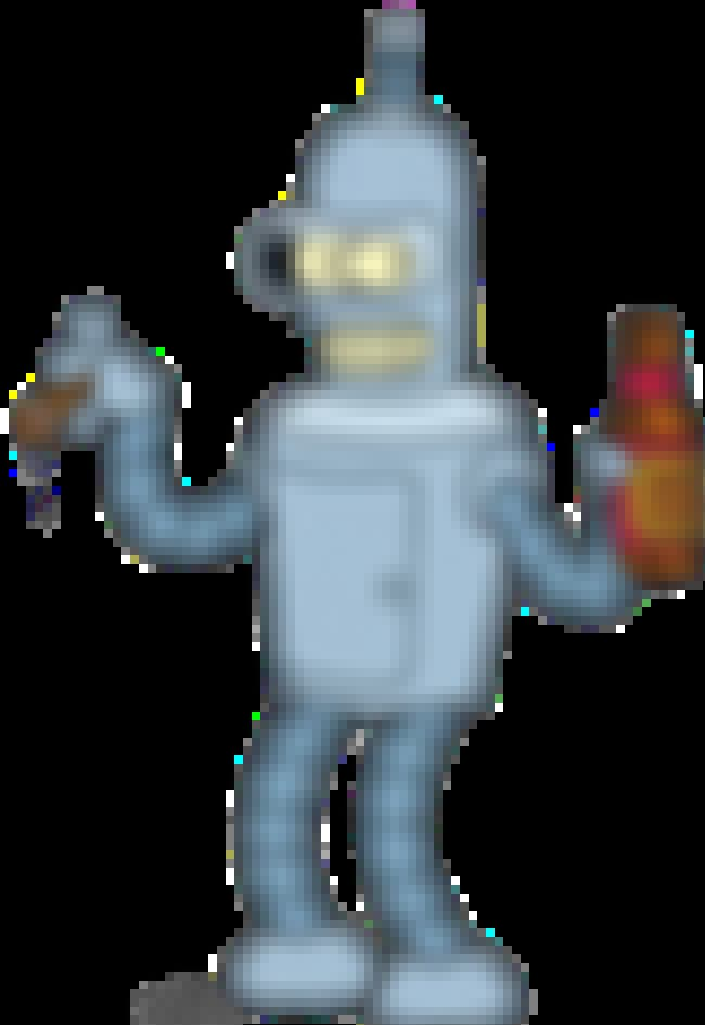 Bender is listed (or ranked) 4 on the list 17 Fictional Characters Whose Ages You Were Totally Wrong About
