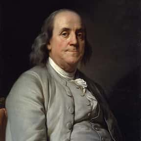 Benjamin Franklin is listed (or ranked) 2 on the list The Most Influential People of All Time