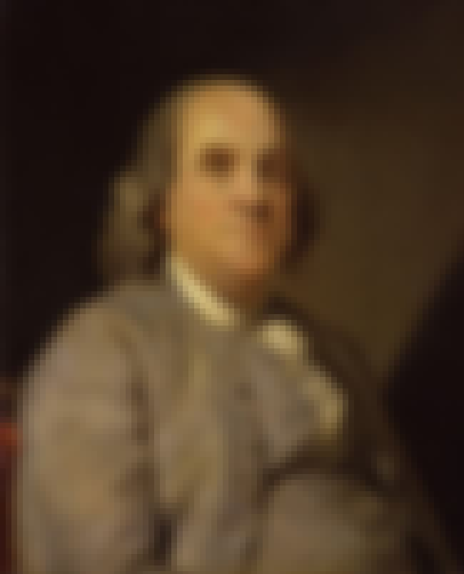 Benjamin Franklin is listed (or ranked) 18 on the list 53 Celebrities Who Have Been Homeless