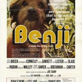 Benji is listed (or ranked) 11 on the list The Best Kids Movies of the 1970s