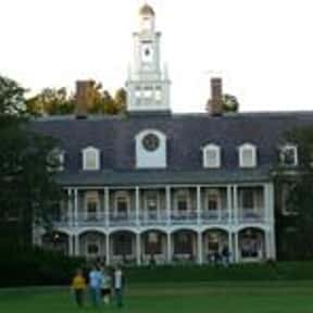 Bennington College is listed (or ranked) 9 on the list Colleges With Best On-Campus Housing