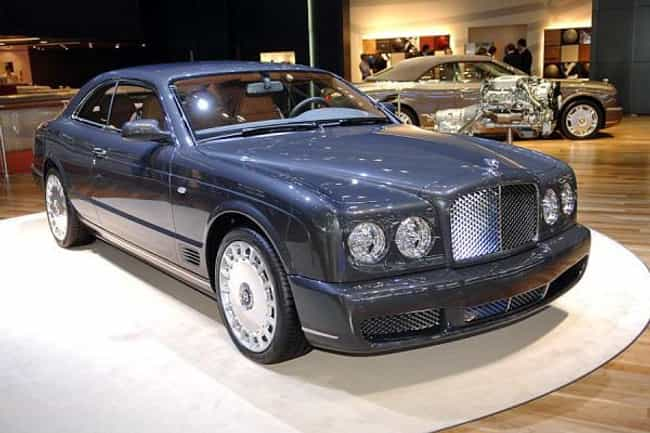bentley brooklands is listed or ranked 4 on the list full list of bentley