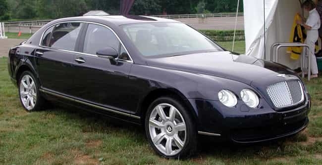 bentley continental flying spu is listed or ranked 3 on the