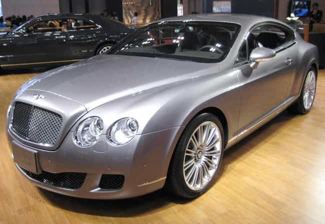 bentley continental gt is listed or ranked 2 on the list full list of