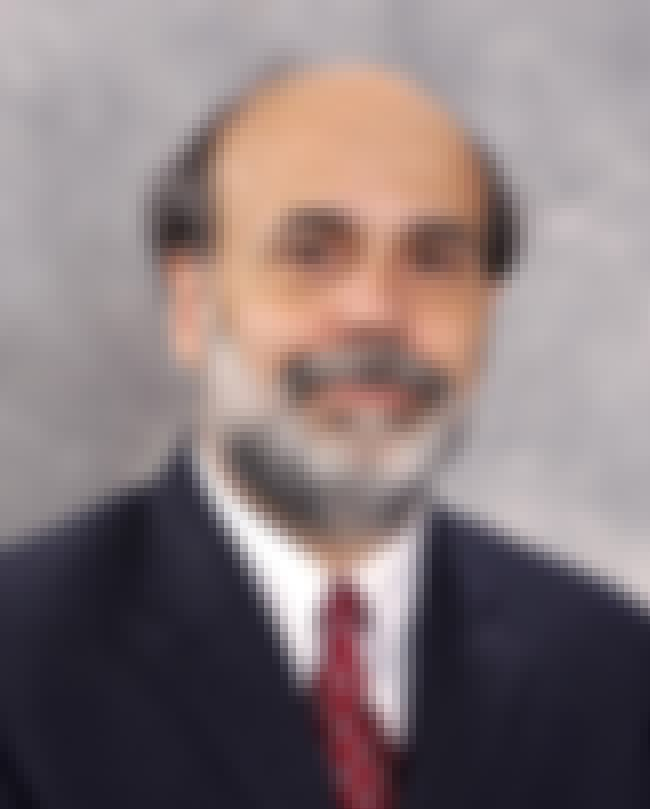 Ben Bernanke is listed (or ranked) 5 on the list List of Famous Professors