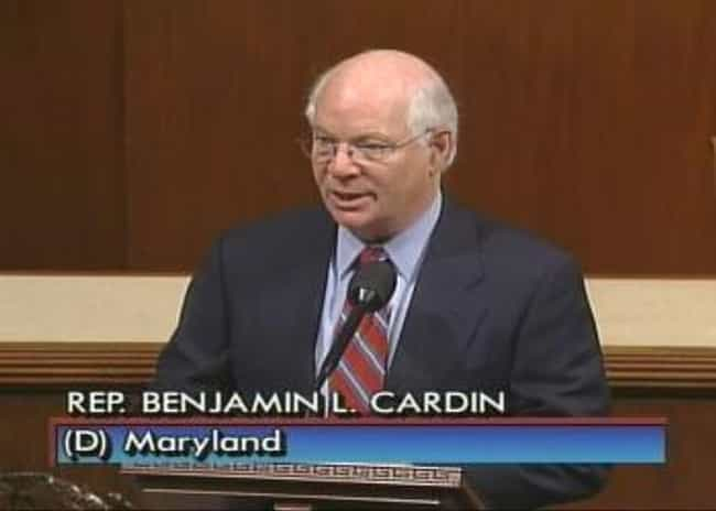 Ben Cardin is listed (or ranked) 7 on the list Current Jewish Senators